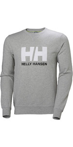 2020 Helly Hansen Mens HH Logo Crew Sweat 34000 - Grey Melange