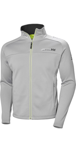 2018 Helly Hansen Mens HP Fleece Jacket Silver Grey 54109