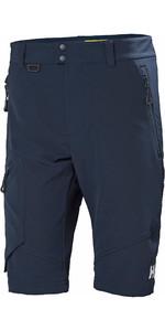 2020 Helly Hansen Mens HP Softshell Shorts Navy 34056