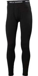 2021 Helly Hansen Mens Lifa Merino Mid Weight Trousers 49366 - Black