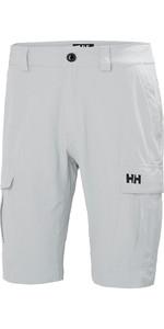 2019 Helly Hansen Mens QD Cargo Shorts Grey Fog 54154