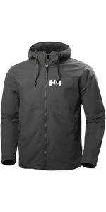 2019 Helly Hansen Mens Rigging Rain Jacket Ebony 64028