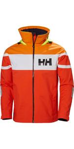 2019 Helly Hansen Salt Flag Jacket Cherry Tomato 33909