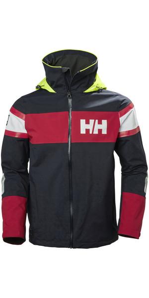 2018 Helly Hansen Salt Flag Jacket Navy 33909