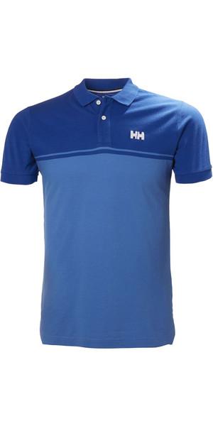 2018 Helly Hansen Salt Polo Shirt Olympian Blue 33939