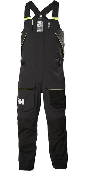 2019 Helly Hansen Skagen Offshore Bib Trousers Ebony 33908