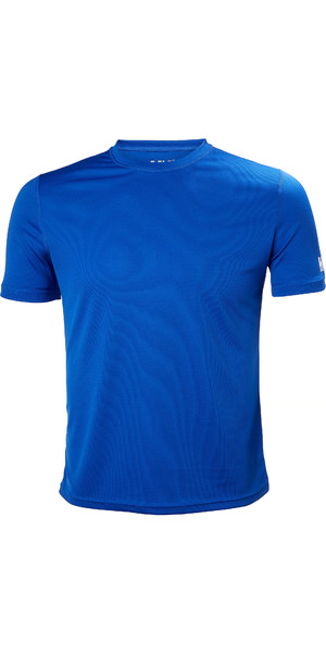 2019 Helly Hansen Tech T Short Sleeve Base Layer Olympian Blue 48363