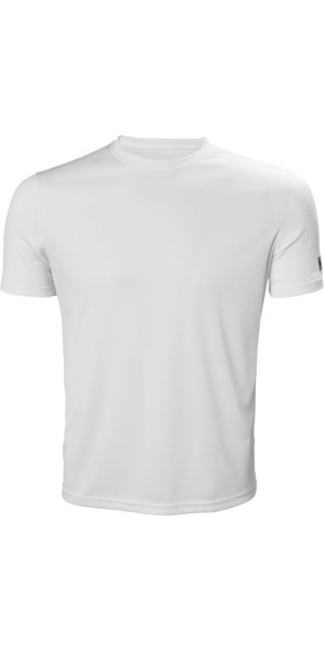 2018 Helly Hansen Tech T Short Sleeve Base Layer White 48363