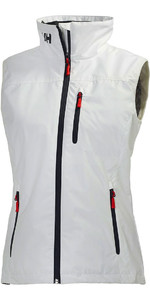 2020 Helly Hansen Womens Crew Vest White 30290