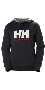 2021 Helly Hansen Womens HH Logo Hoodie 33978 - Navy