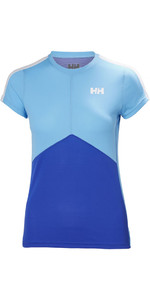 Helly Hansen Womens Lifa Active Light T Shirt Olympian Blue 48370