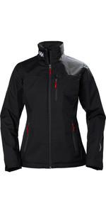 2021 Helly Hansen Womens Mid Layer Crew Jacket Black 30317