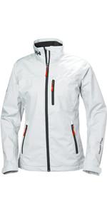 2020 Helly Hansen Womens Mid Layer Crew Jacket White 30317