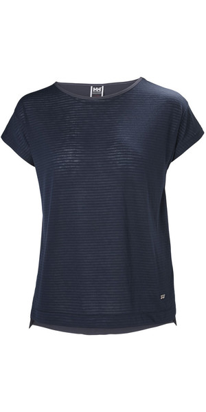 2018 Helly Hansen Womens Thalia T-Shirt Navy 53040