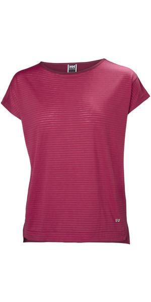 2019 Helly Hansen Womens Thalia T-Shirt Persian Red 53040