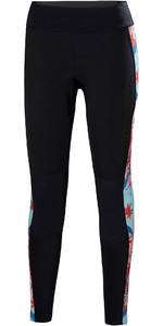 2019 Helly Hansen Womens Water Wear 2mm Neoprene Trousers Black 34021