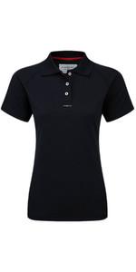 Henri Lloyd Womens Fast Dry Polo T-Shirt in Black Y30279