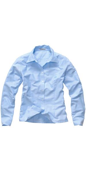 Henri Lloyd Womens Oxford LS Shirt Ice Blue Y35069