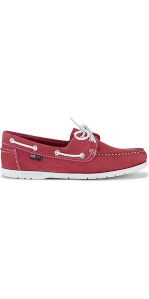 2018 Henri Lloyd Ladies Shore Deck Shoe Red / White F94425