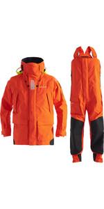 2020 Henri Lloyd Mens O-Race Offshore Jacket & Trouser Combi Set - Orange