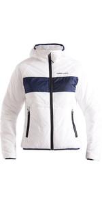 2020 Henri Lloyd Womens Maverick Hooded Liner Mid Layer Jacket P201210058 - Cloud White