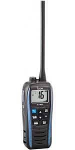 2020 ICOM M25 Waterproof Handheld VHF Radio Blue VHF0161