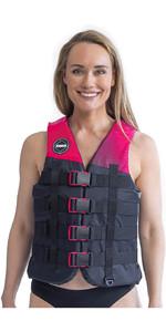 2020 Jobe 50N 4-Buckle Impact Vest 244820006 - Hot Pink