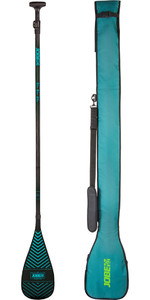 2020 Jobe Carbon Pro 3-Piece SUP Paddle With Travel Bag 486720011