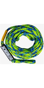 2021 Jobe 6 Person Tow Rope 211920003 - Yellow