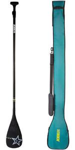 2019 Jobe Carbon Pro 3-Piece SUP Paddle + Paddle Bag 486719101
