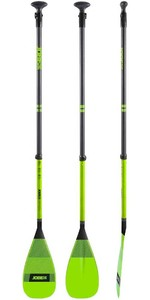 2021 Jobe Fiberglass 3-Piece SUP Paddle 486721005 - Lime