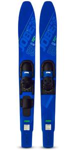 2020 Jobe Hemi Combo Skis 203320002 - Blue