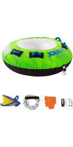 2020 Jobe Rumble 1 Person Towable Package 238820001 - Green