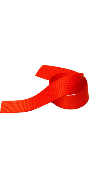 Kingfisher 50mm Toestrap Webbing Red TSWR50