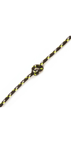 Kingfisher Evolution Performance Dinghy Rope Black CL0X2 - Price per metre