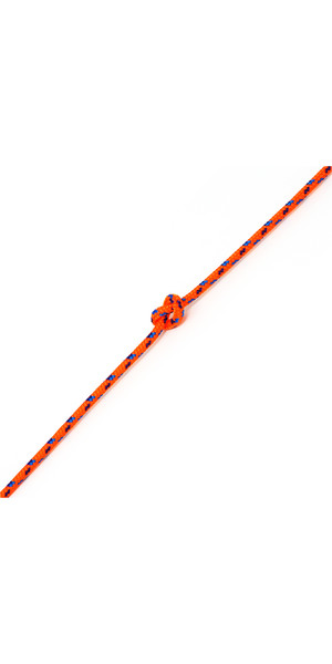 Kingfisher Evolution Performance Dinghy Rope Orange CL0O2 - Price per metre.