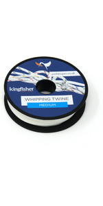 Kingfisher Twisted Whipping Twine White WTWB