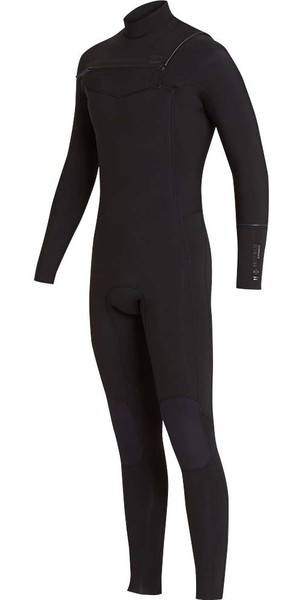 2018 Billabong Furnace Revolution 5/4mm Chest Zip Wetsuit Black L45M06