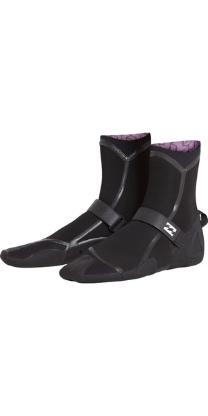 2018 Billabong Furnace Carbon Ultra 3mm Split Toe Boot Black L4BT18