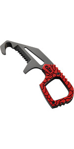 2020 Gill Harness Rescue Tool - SHACKLE KEY + KNIFE Titanium MT008 RED