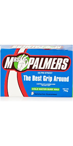 2018 Mrs Palmers Ultra Sticky Cold Water Surf Wax