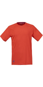 Musto Evolution Logo Short Sleeve Tee FIRE ORANGE SE1361