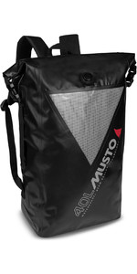 2020 Musto Waterproof Dry Backpack 40L 80041 - Black / Grey