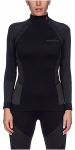 2021 Musto Womens Active Base Layer Top Black SWTH001