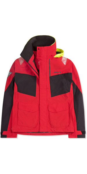 2019 Musto Mens BR2 Coastal Jacket True Red SMJK055
