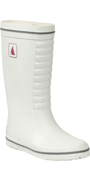Musto Ladies/Junior Classic Deck Boot in WHITE FS0710