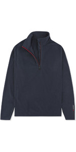2019 Musto Junior Crew 1/2 Zip Microfleece Navy EMFL028
