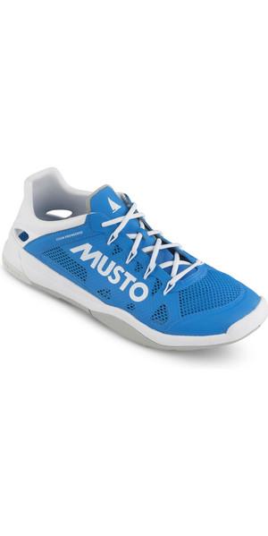 2019 Musto Dynamic Pro II Sailing Shoe Brilliant Blue FUFT006