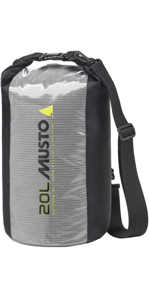 2019 Musto Essential 20L Dry Bag Black AUBL004