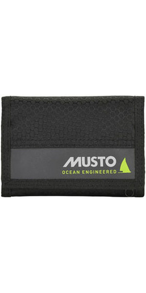 2019 Musto Essential Wallet Black AUBL222